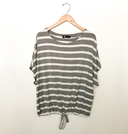 M Made in Italy Striped Tee