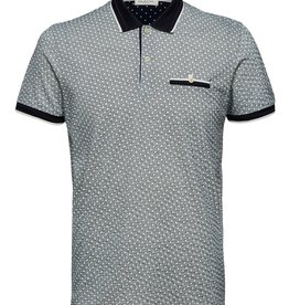 Selected SLHPatterson Print SS PoloB