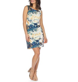 Papillon Watercoloour Sleeveless Dress
