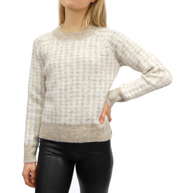 RD International RD Houndstooth Pullover