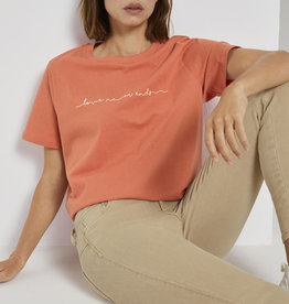 Tom Tailor TT Boxy Tee With Embro