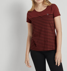 Tom Tailor TT Striped Tee with Heart Embroidery