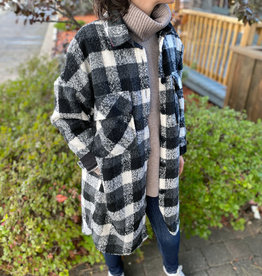 RD International RD Plaid Jacket