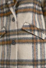 Tom Tailor Check Cocoon Coat