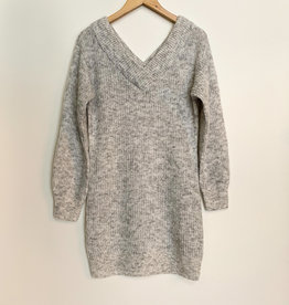 RD International RD Low DoubleV Sweater Dress