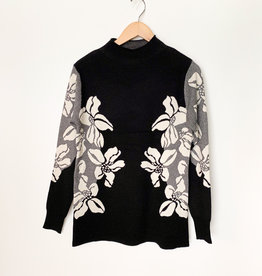 CYC CYC FLoral Mock Neck Pullover