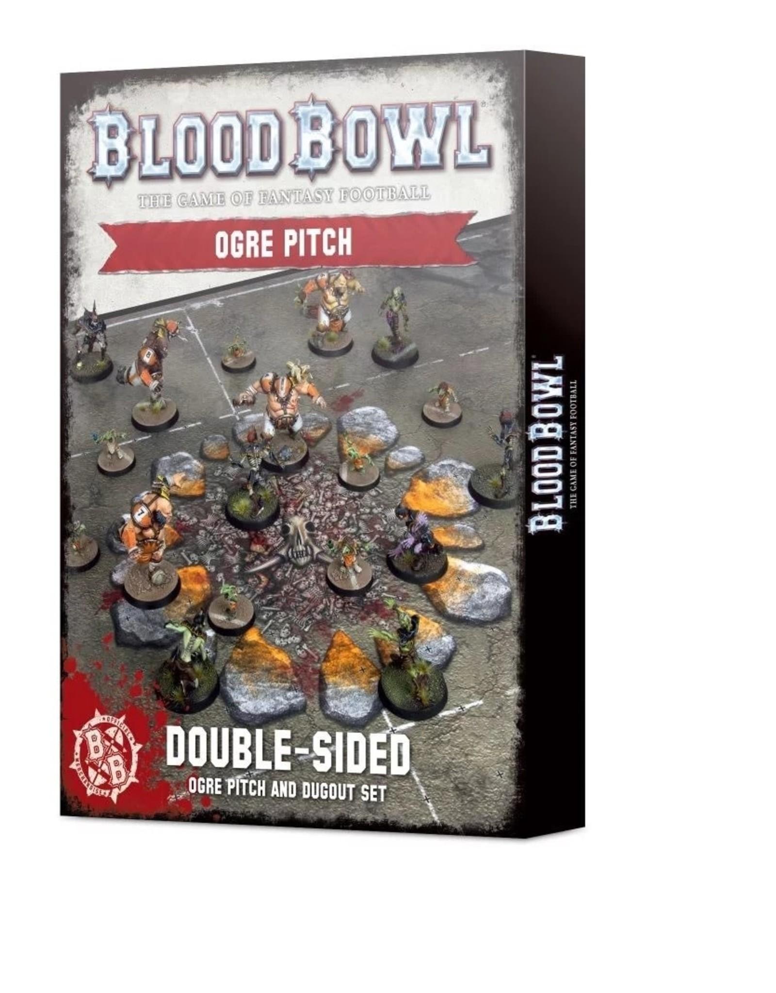 Games Workshop Blood Bowl Ogre Pitch