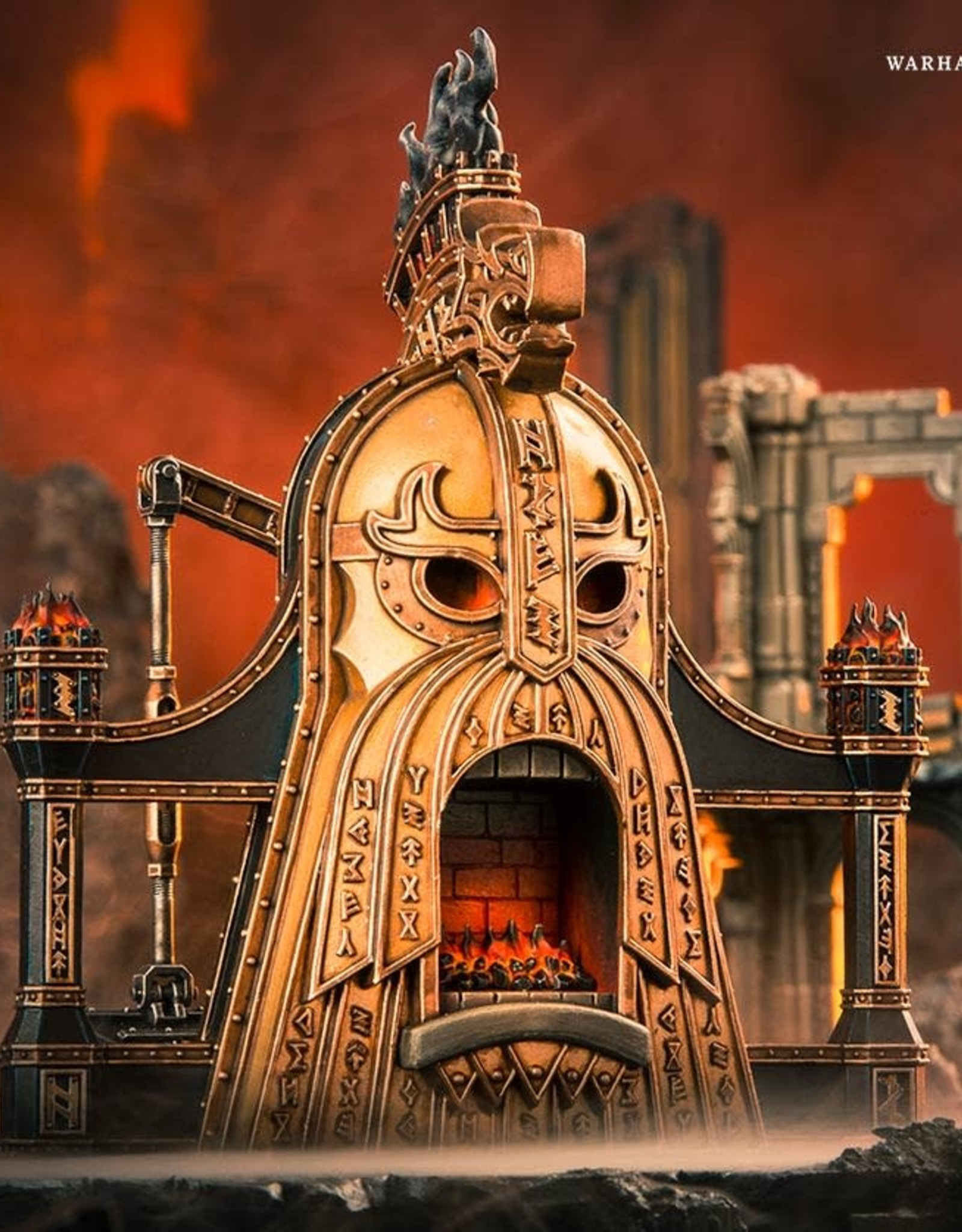 Games Workshop AoS: Fireslayers Magmic Battlef