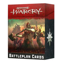Games Workshop WARCRY: BATTLEPLAN CARDS (ENGLISH)