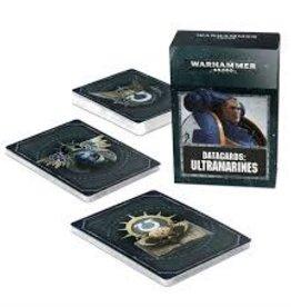 Games Workshop WH40k Datacards Ultramarines