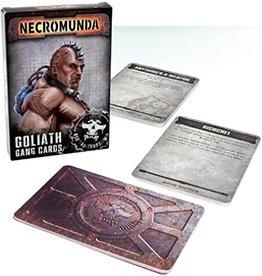 Games Workshop NECROMUNDA: GOLIATH CARDS