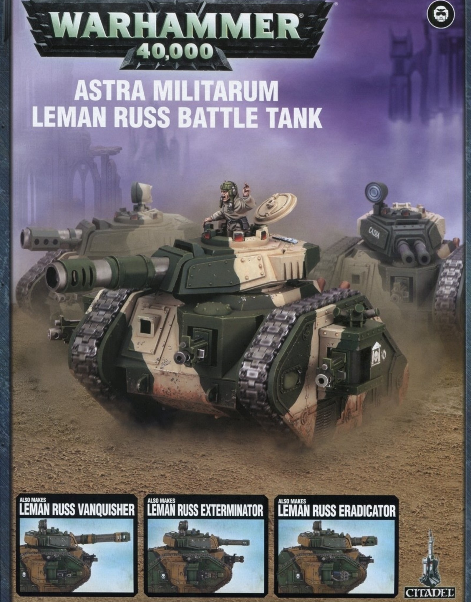 Games Workshop ASTRA MILITARUM LEMAN RUSS BATTLE TANK