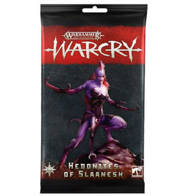 Games Workshop WARCRY HEDONITES CARDS