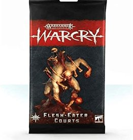 Games Workshop Warcry Flesh-Eater Courts Cards