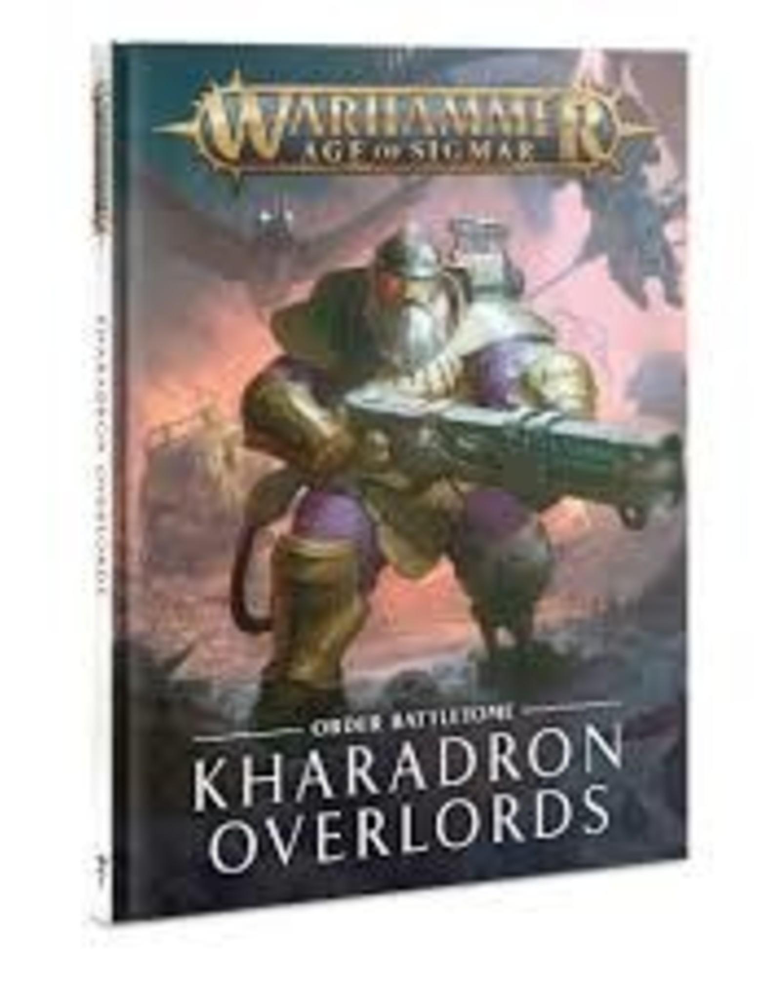 Games Workshop BATTLETOME KHARADRON OVERLORDS