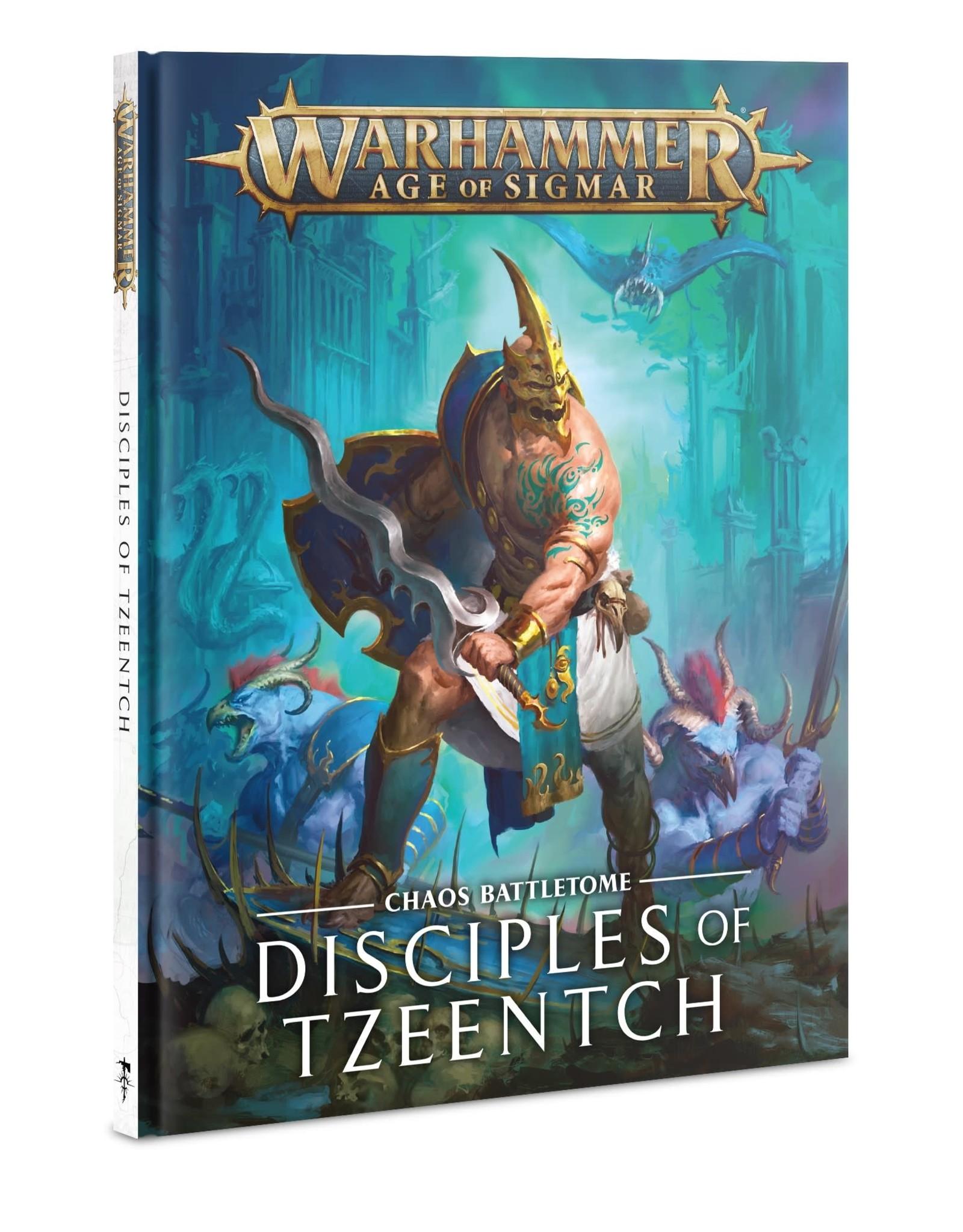 Games Workshop B/TOME: DISCIPLES OF TZEENTCH (HB) ENG