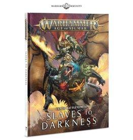 Games Workshop WH AoS Battletome Slaves to Darkness