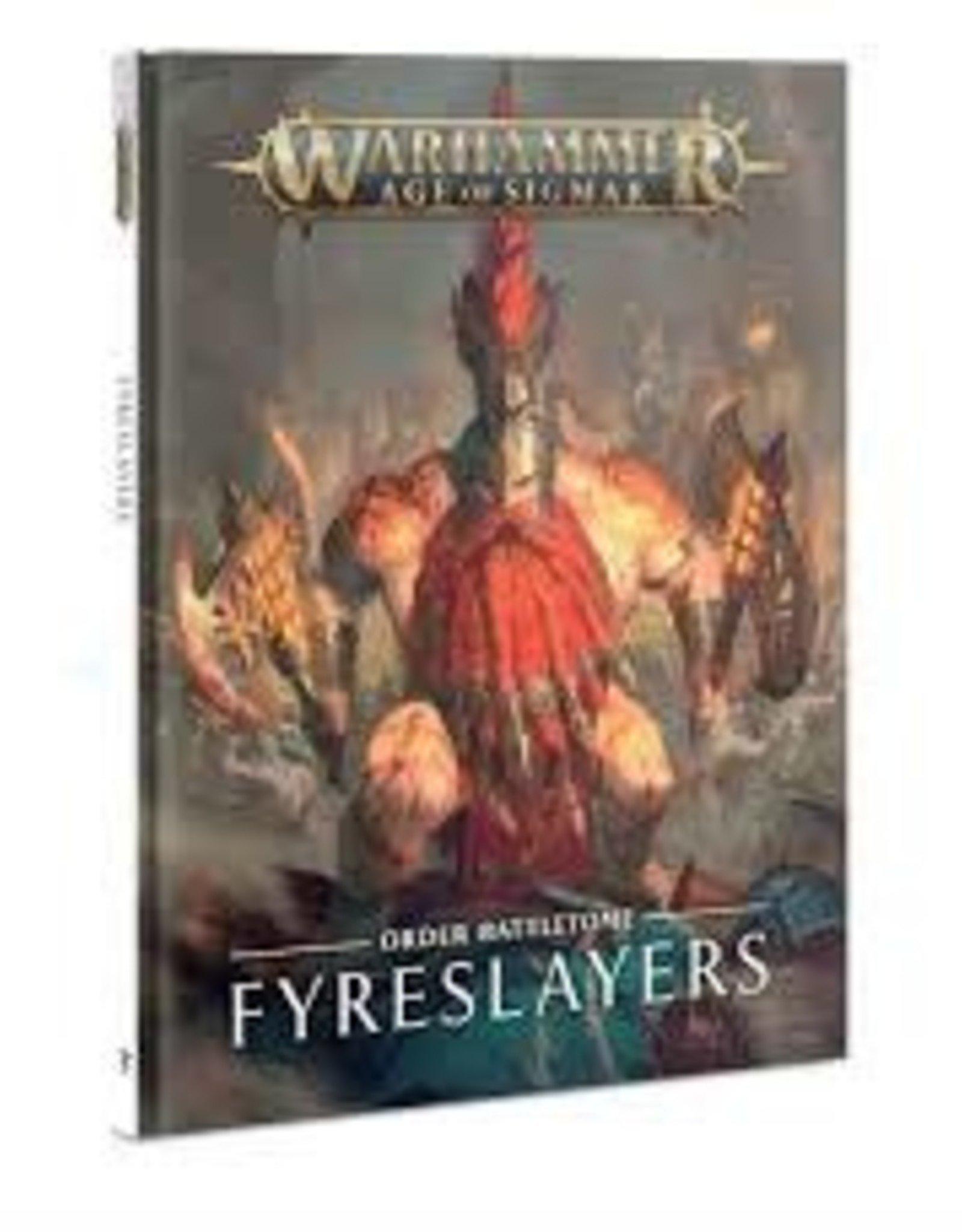 Games Workshop AoS: Battletome Fireslayers