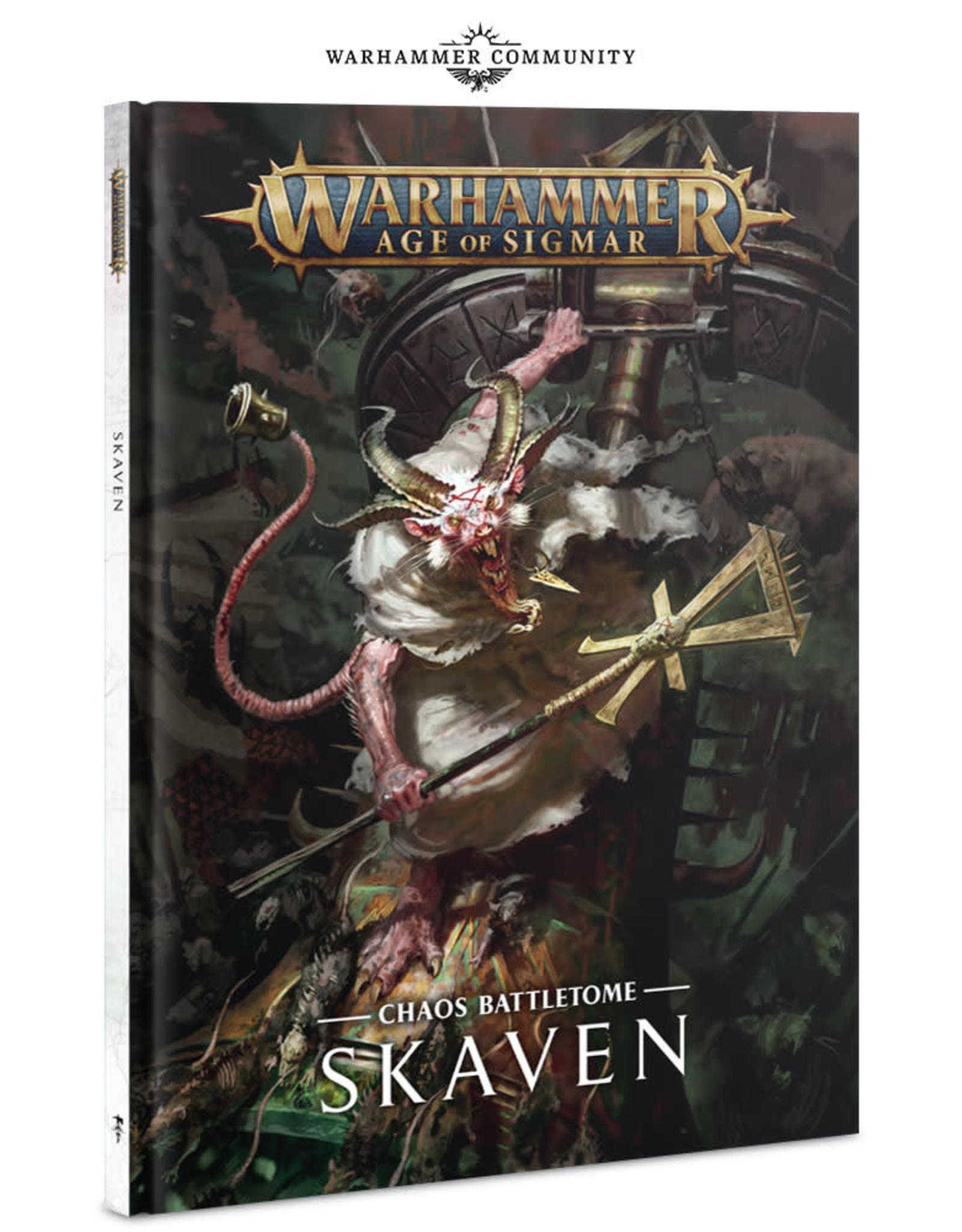 Games Workshop BATTLETOME: SKAVEN (HB) (ENGLISH)