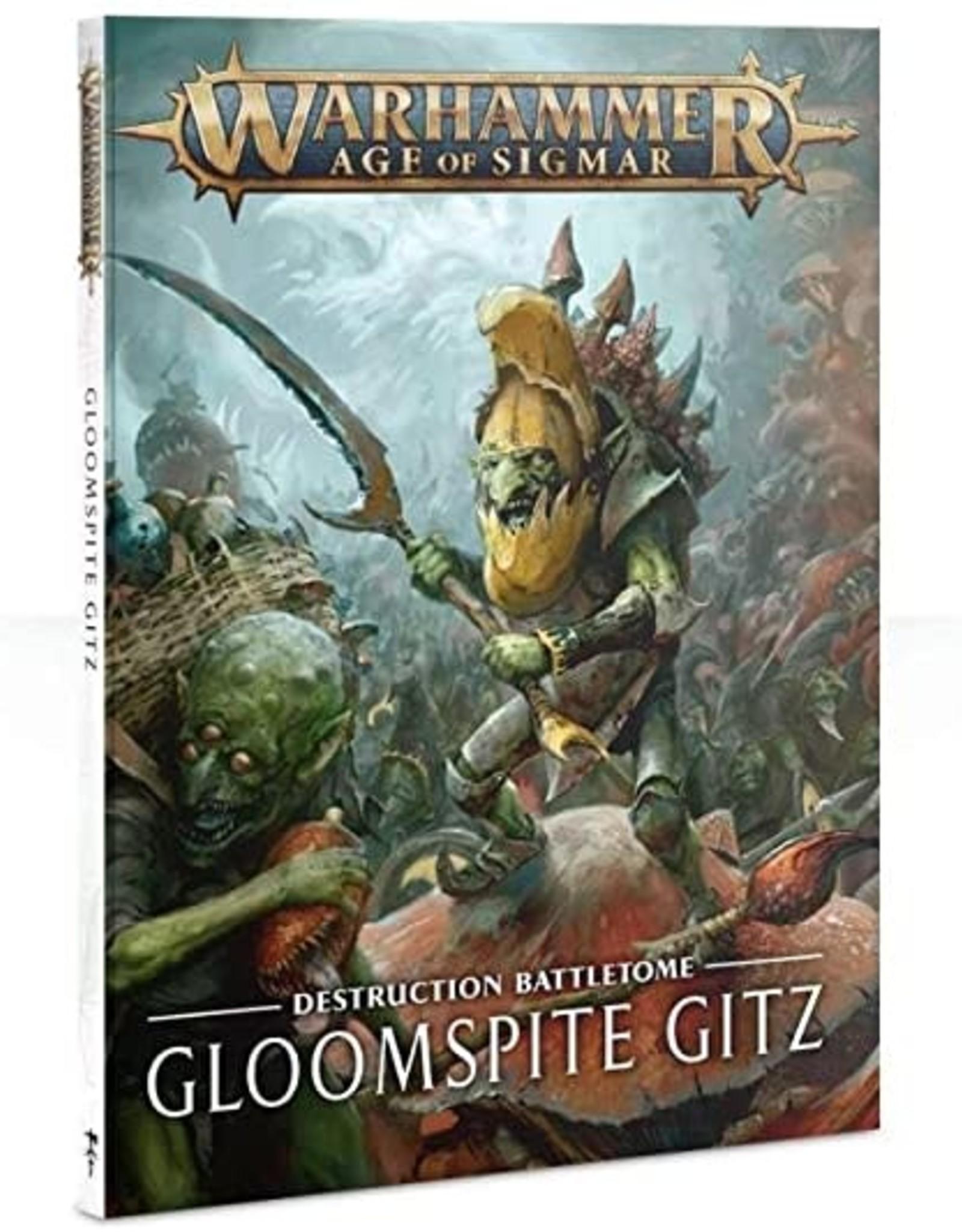 Games Workshop BATTLETOME: GLOOMSPITE GITZ (HB) (ENG)