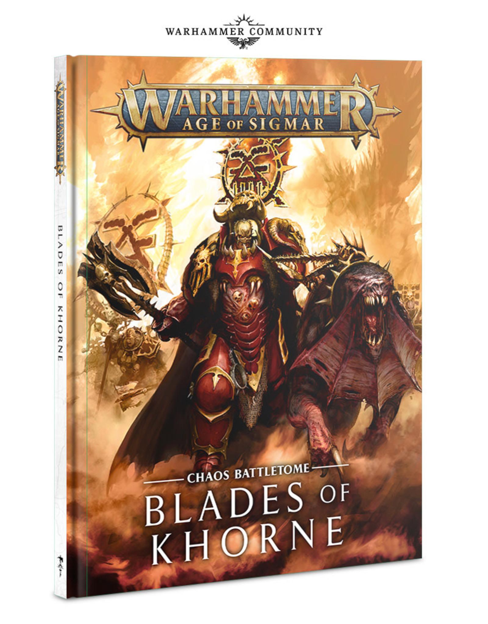 Games Workshop AoS: Blades of Khorne