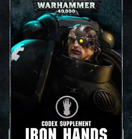 Games Workshop CODEX: IRON HANDS (HB) (ENGLISH)