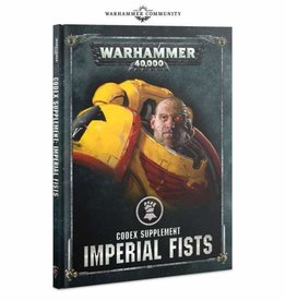 Games Workshop Imperial Fists Codex Supplement