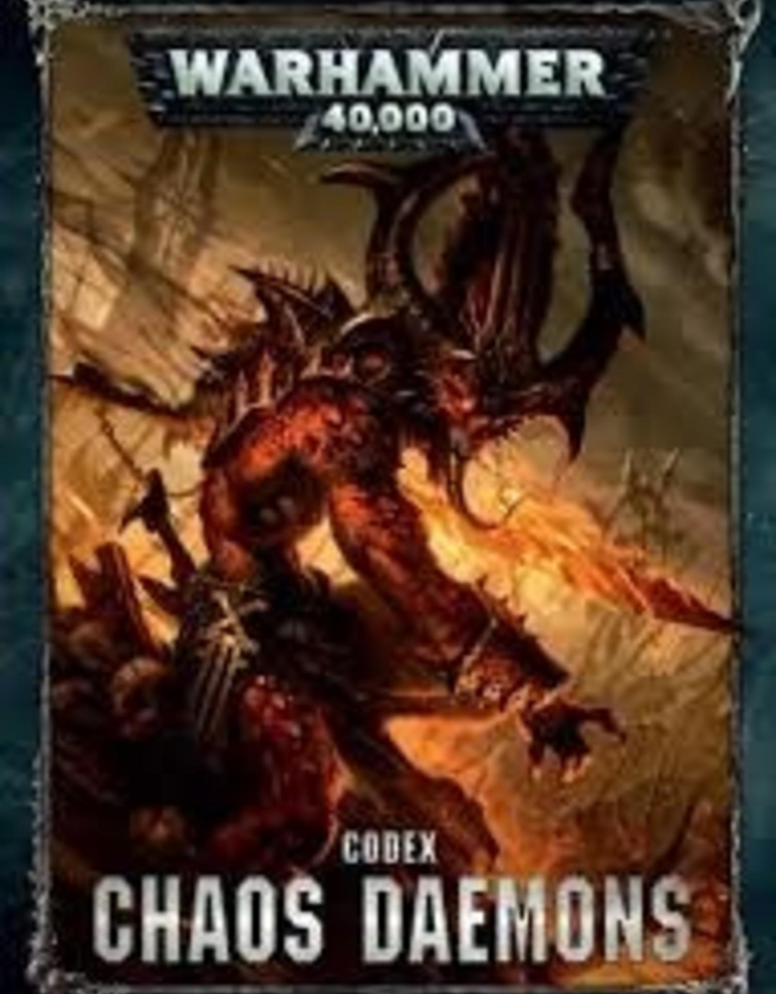 Games Workshop CODEX: CHAOS DAEMONS (HB) (ENGL