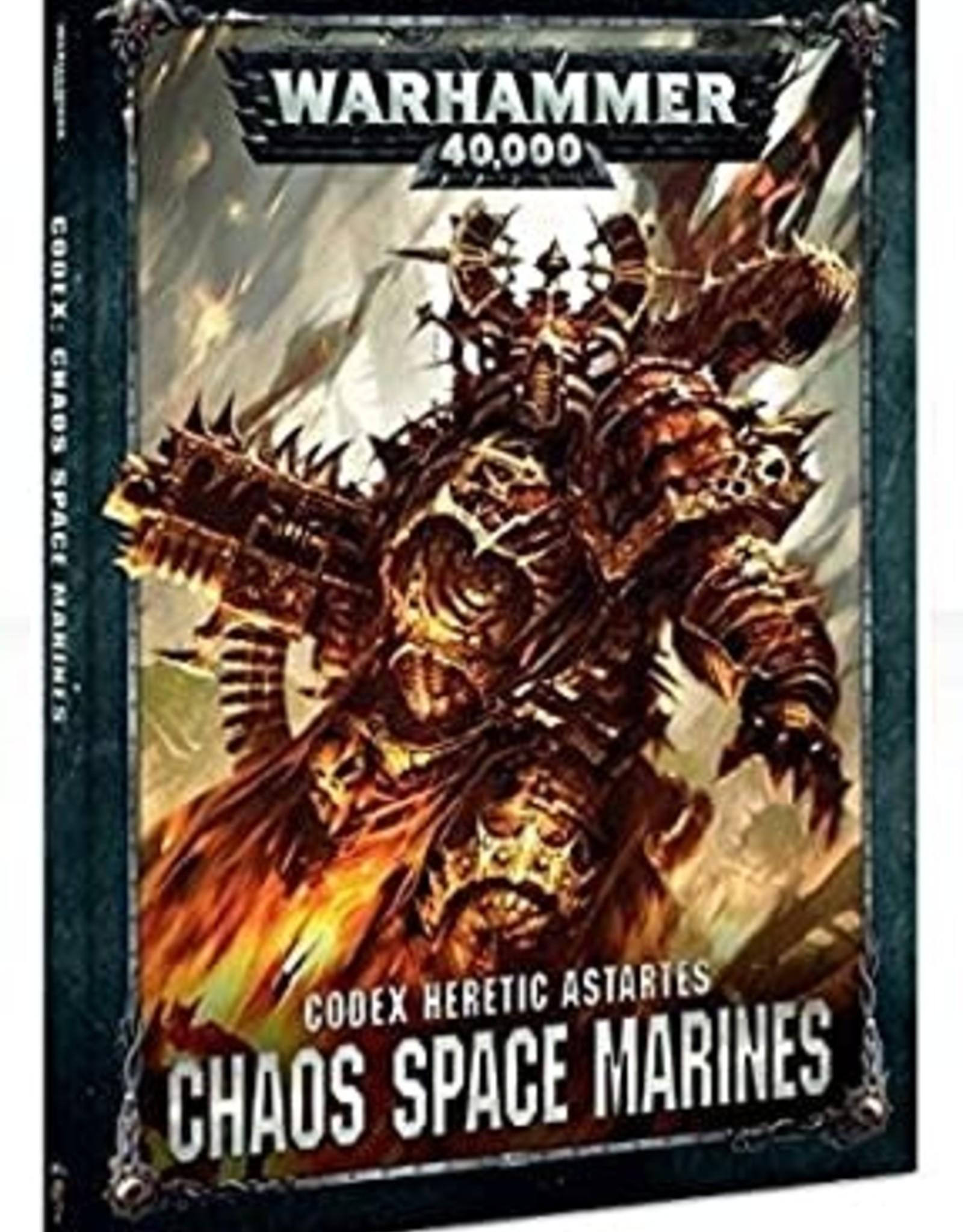 Games Workshop W40K Codex Chaos Space Marines