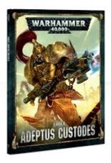 Games Workshop CODEX: ADEPTUS CUSTODES (HB) (E