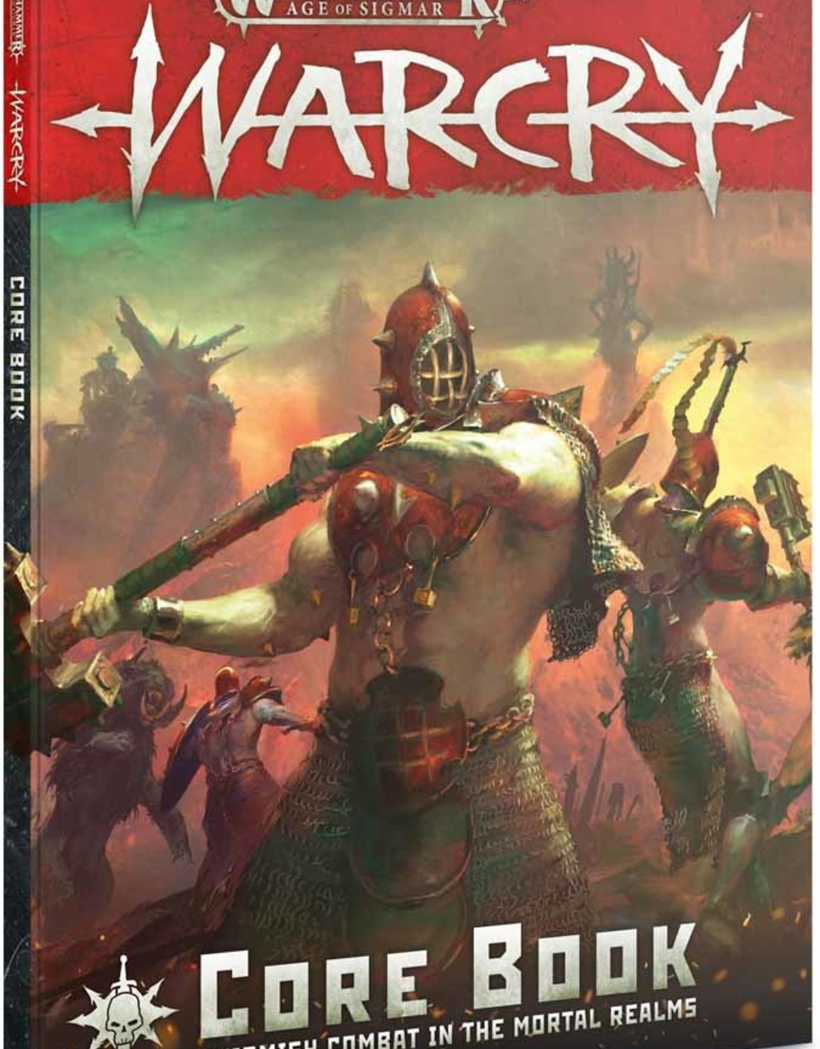 Games Workshop AGE OF SIGMAR: WARCRY CORE BOOK (ENG)