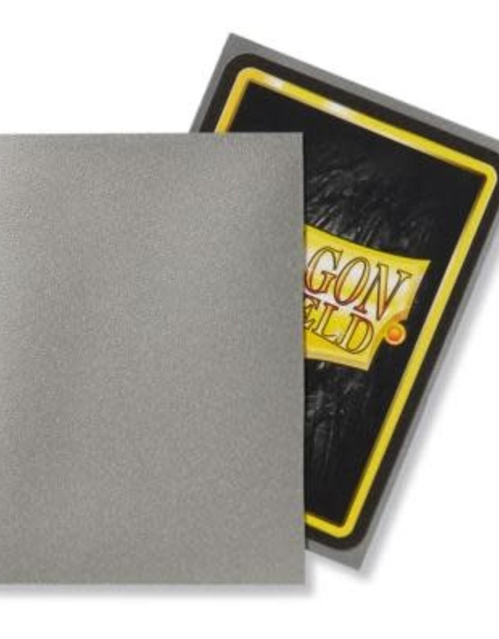 Arcane Tinmen Dragon Shield Matte Silver (100)