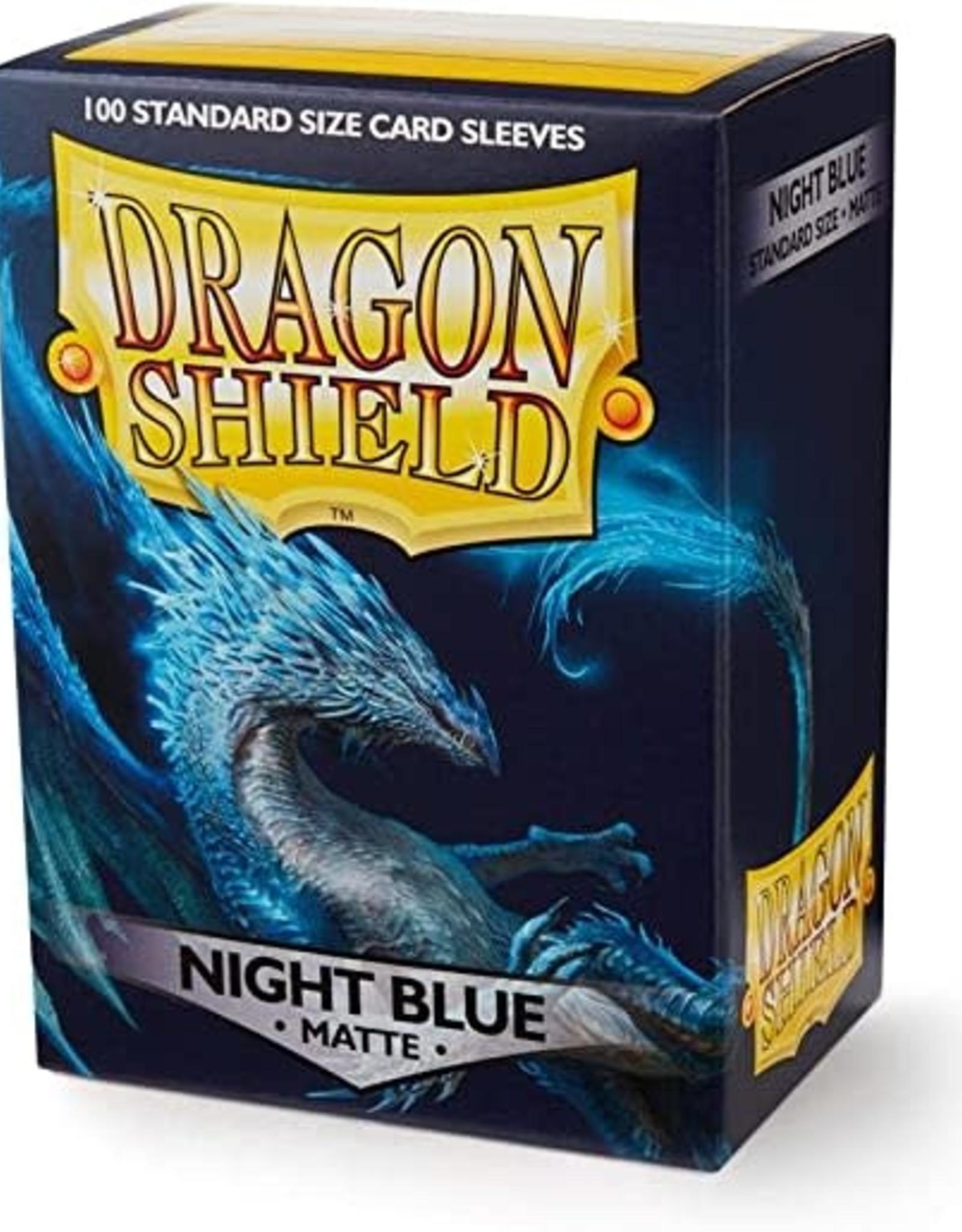 Arcane Tinmen Dragon Shield Matte Night Blue (100)