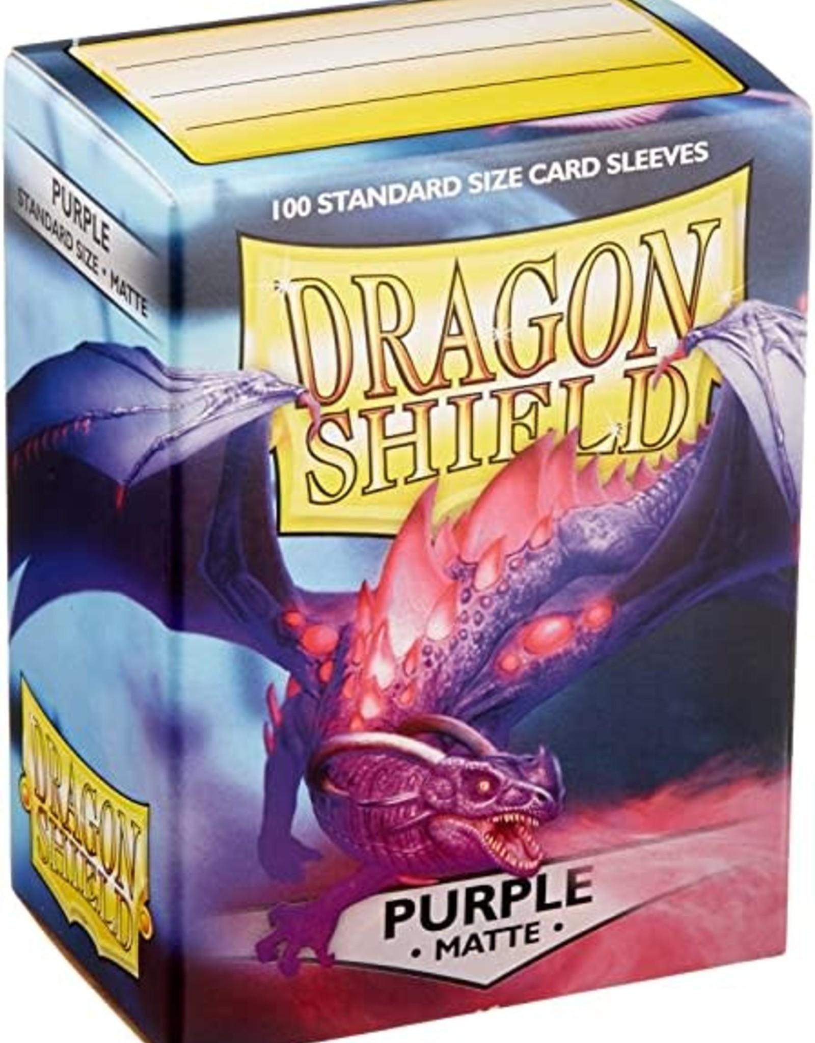 Arcane Tinmen Dragon Shield Matte Purple (100)