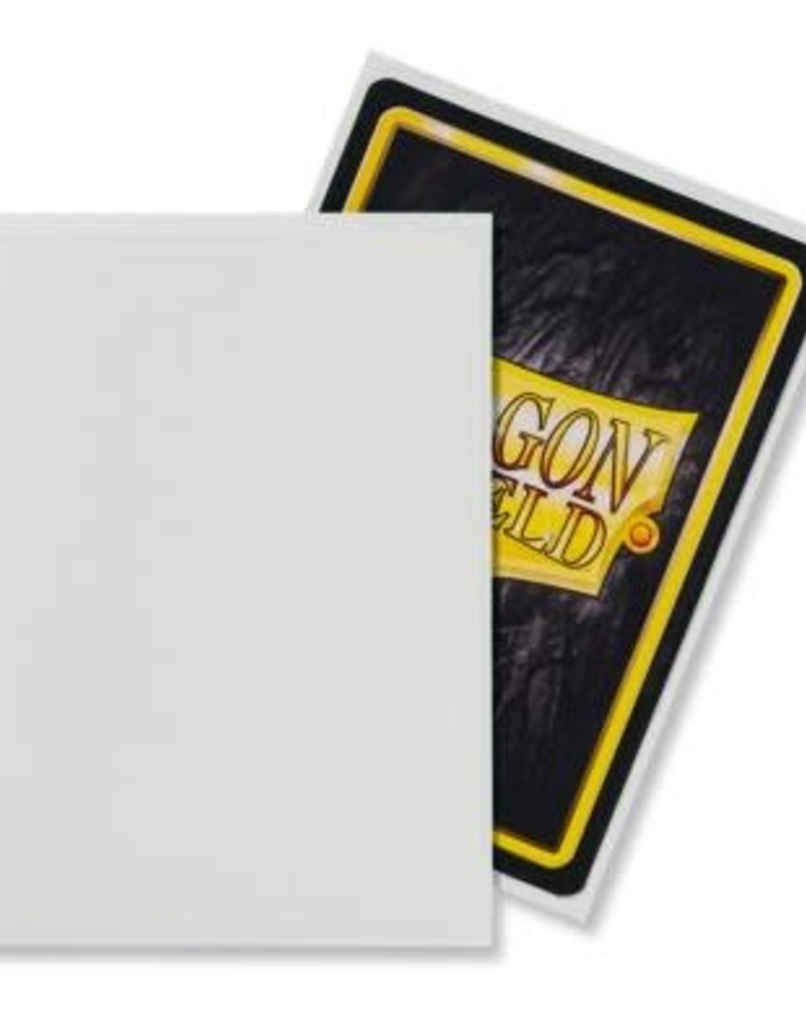 Arcane Tinmen Dragon Shield Matte White (100)