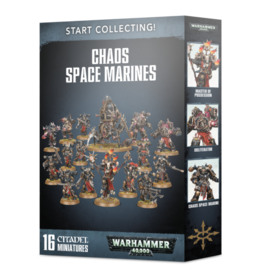 Games Workshop START COLLECTING! CHAOS SPACE MARINES