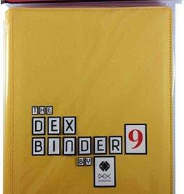 Dex Protection Dex Binder 9 Yellow