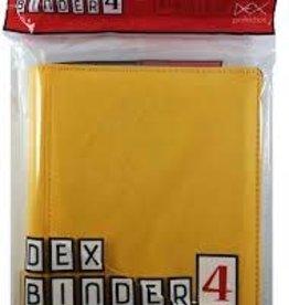 Dex Protection Dex Binder 4 Yellow