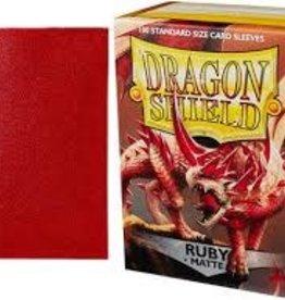 Arcane Tinmen Dragon Shield Matte Ruby (100)