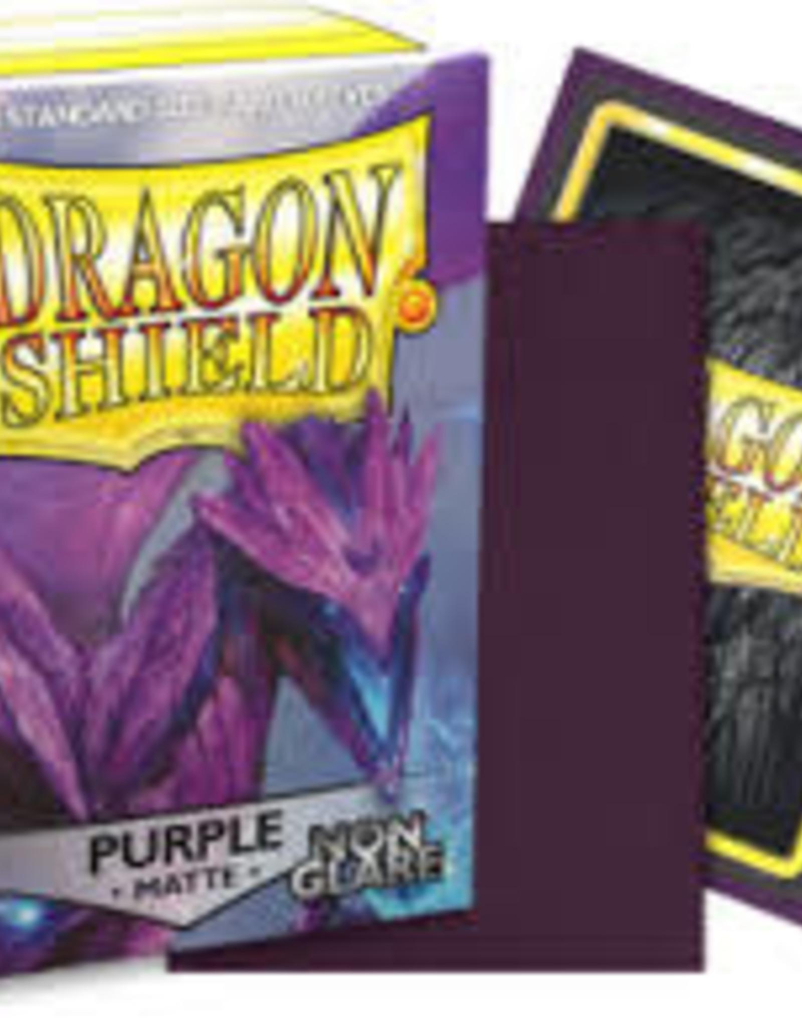 Arcane Tinmen Dragon Shield Matte Non Glare Purple (100)