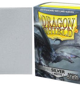 Arcane Tinmen Dragon Shield Matte Non Glare Silver (100)