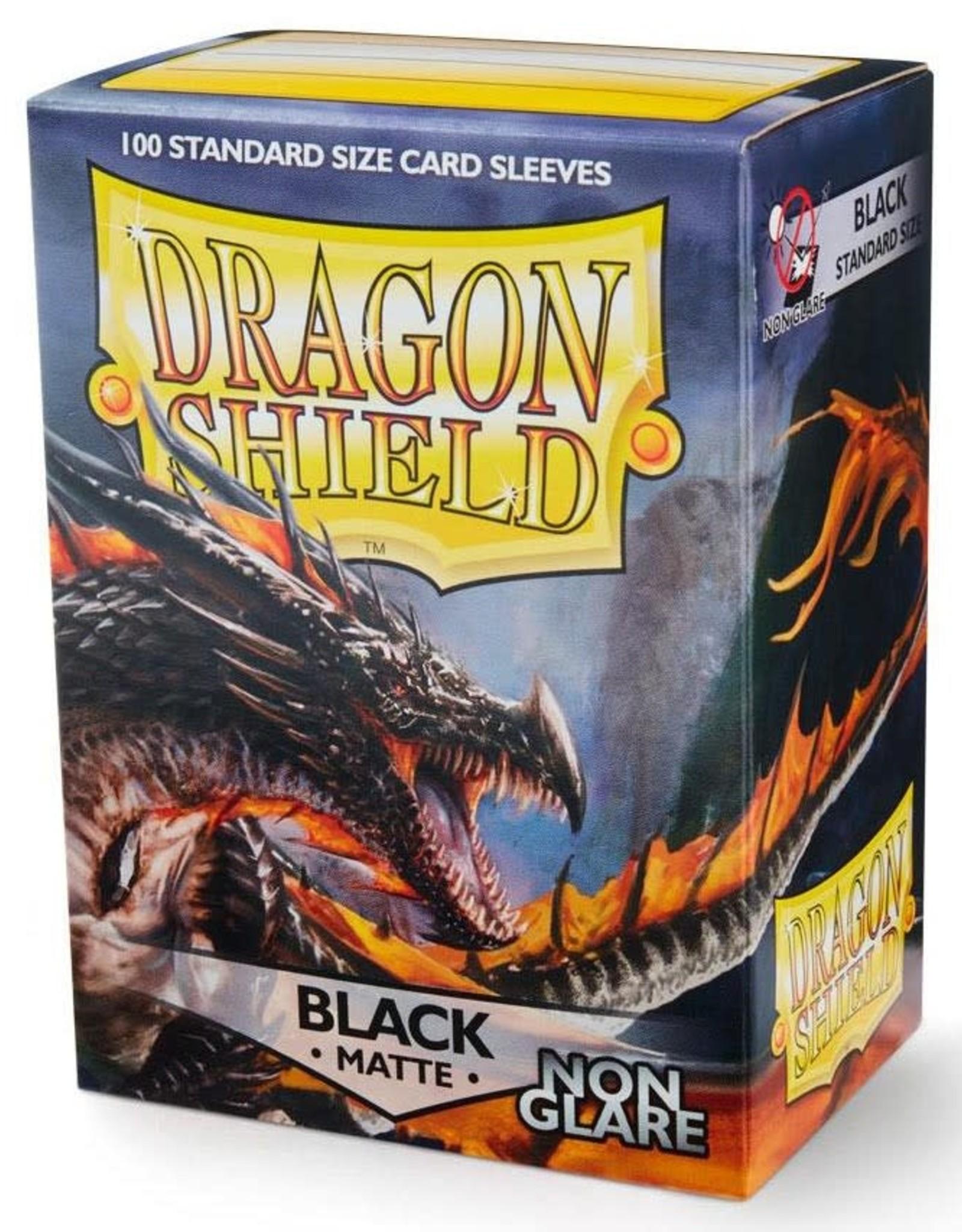 Arcane Tinmen Dragon Shield Matte Non Glare Black (100)