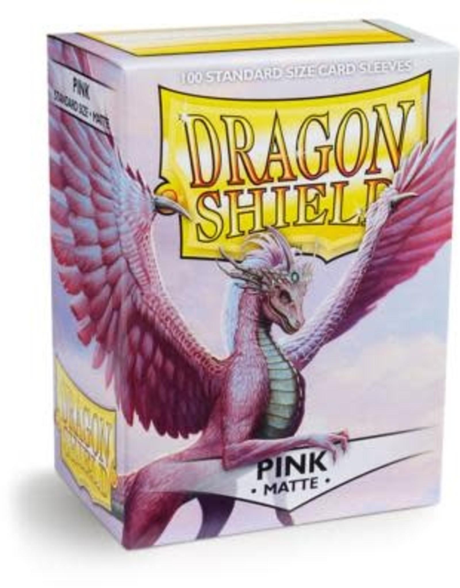Arcane Tinmen Dragon Shield Matte Pink (100)