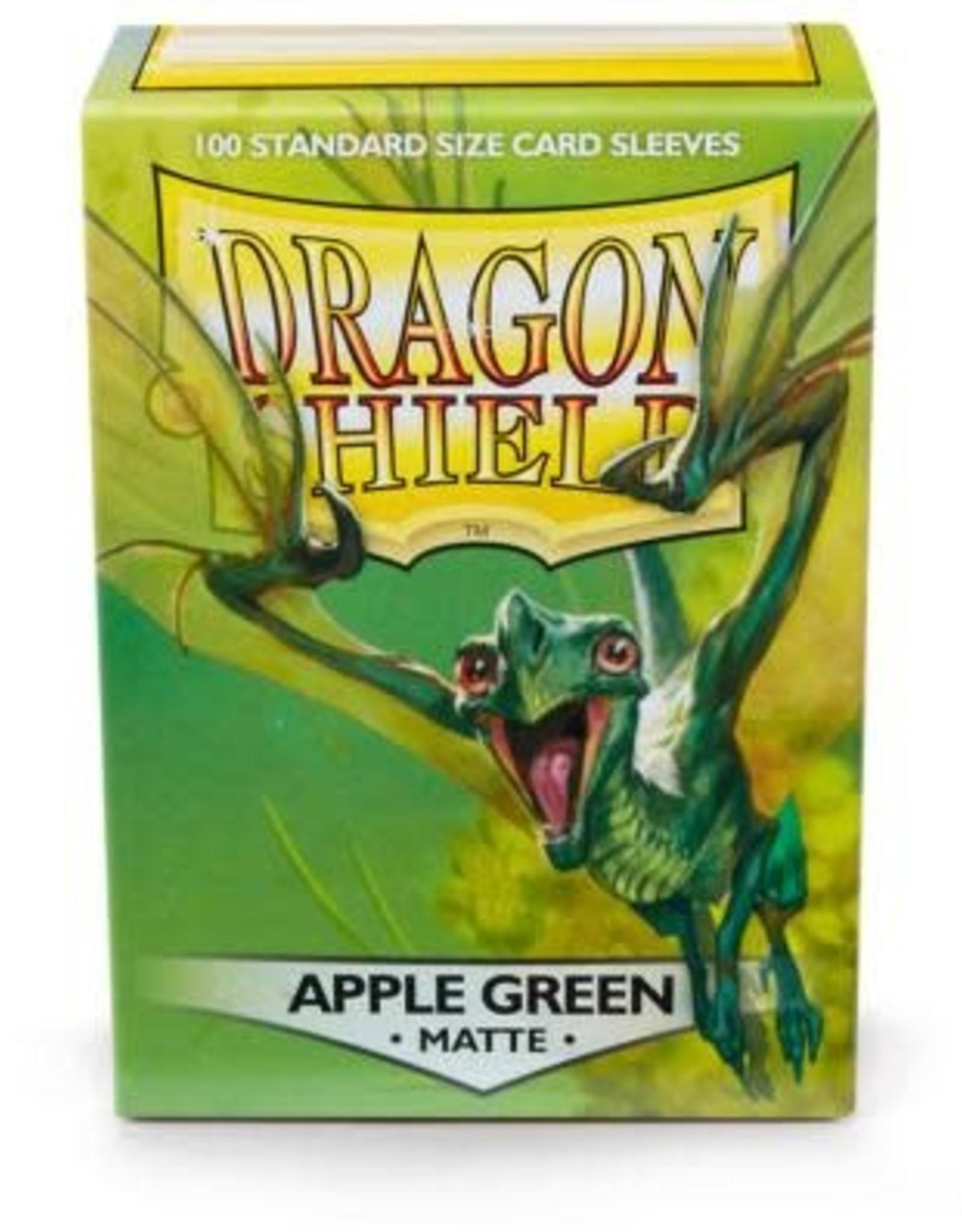 Arcane Tinmen Dragon Shield Matte  Apple Green (100)