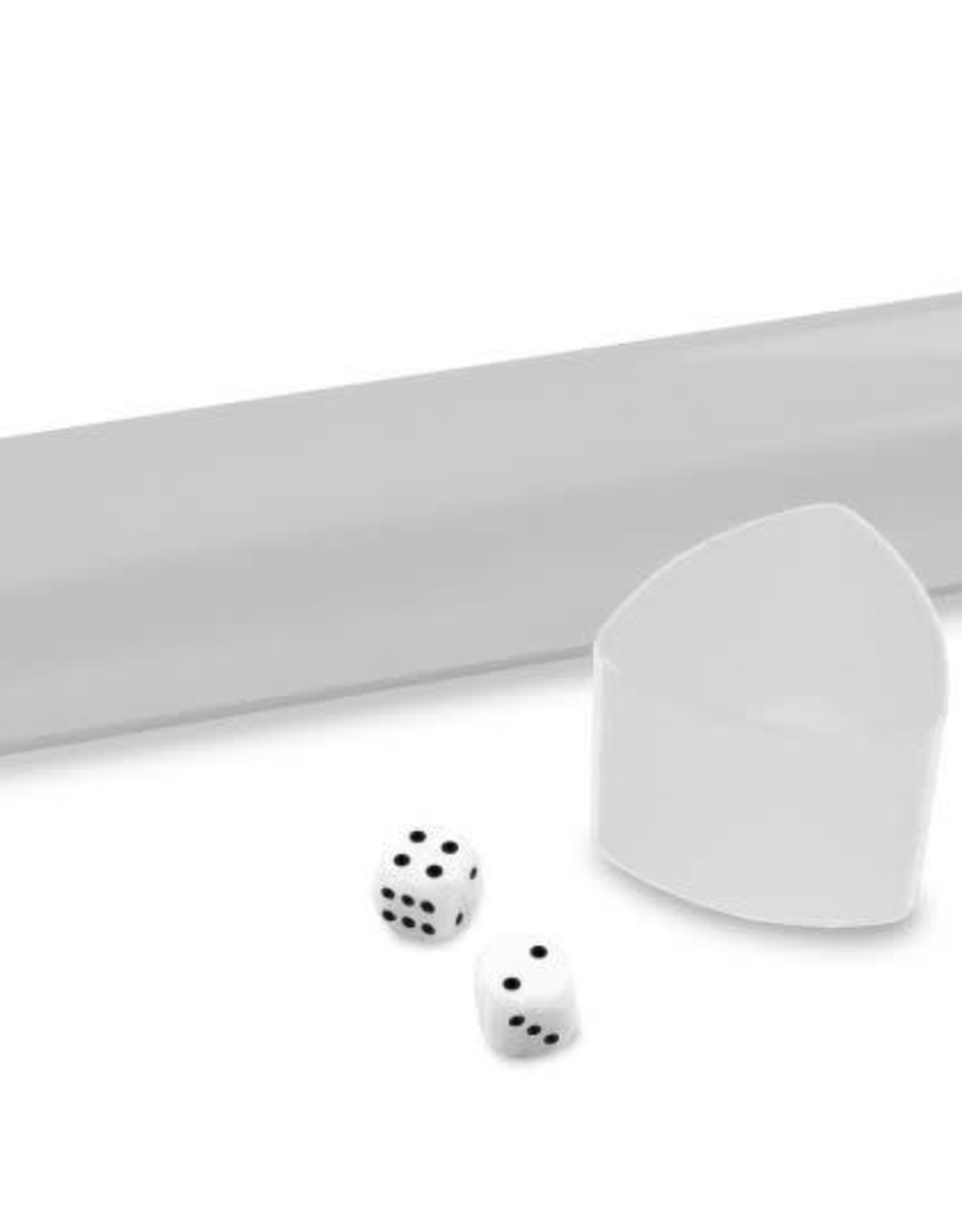 BCW Playmat Tube Cl/white