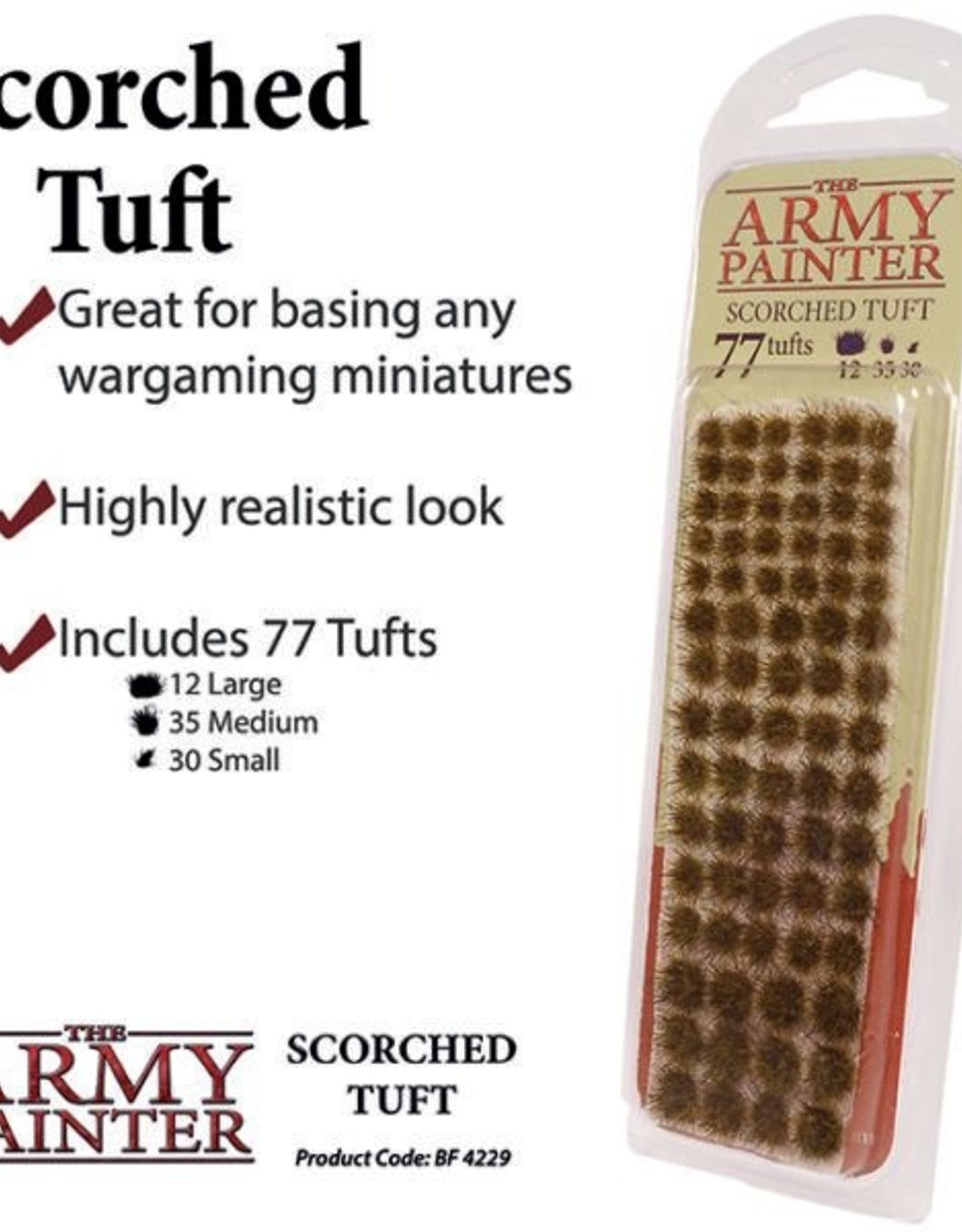 The Army Painter Tufts: Scorched