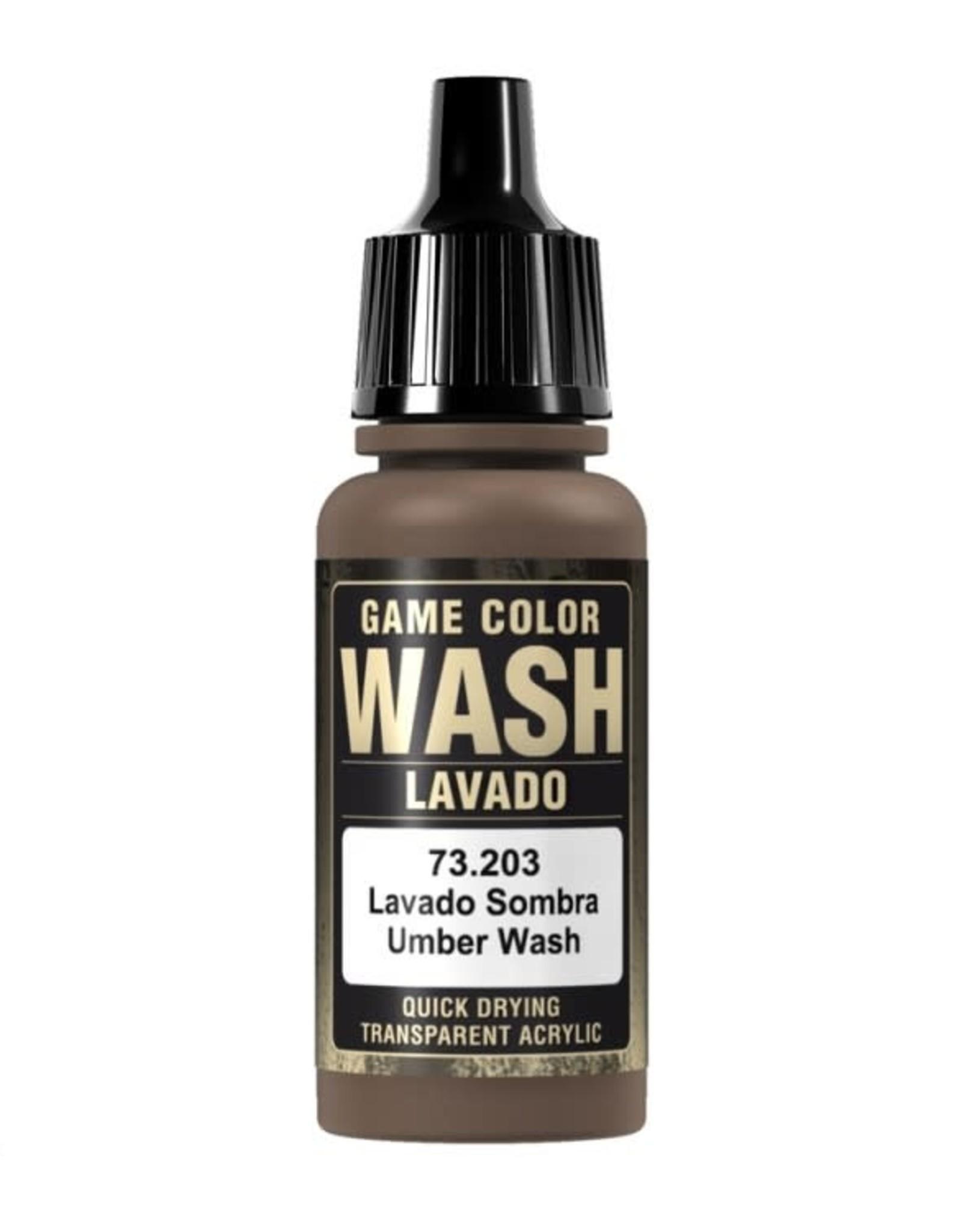 VALLEJO GC: Wash: Umber (17 ml.)