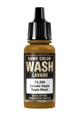 VALLEJO GC: Wash: Sepia (17 ml.)