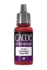 VALLEJO GC: Opaque: Heavy Red (17 ml.)