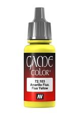 VALLEJO GC: Fluorescent: Yellow (17 ml.